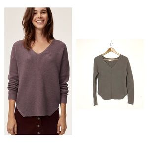 ARITZIA WILFRED FREE Wolter Merino Wool Sweater